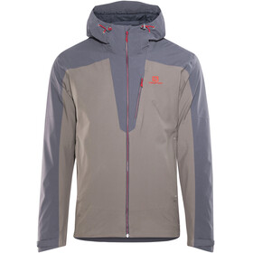 Salomon La Cote 2L Jacket Men grey